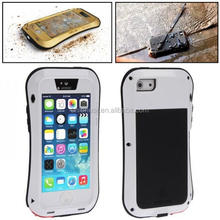 New product love mei silicone Aluminum waterproof case for iphone 4,for iphone 4s waterproof case