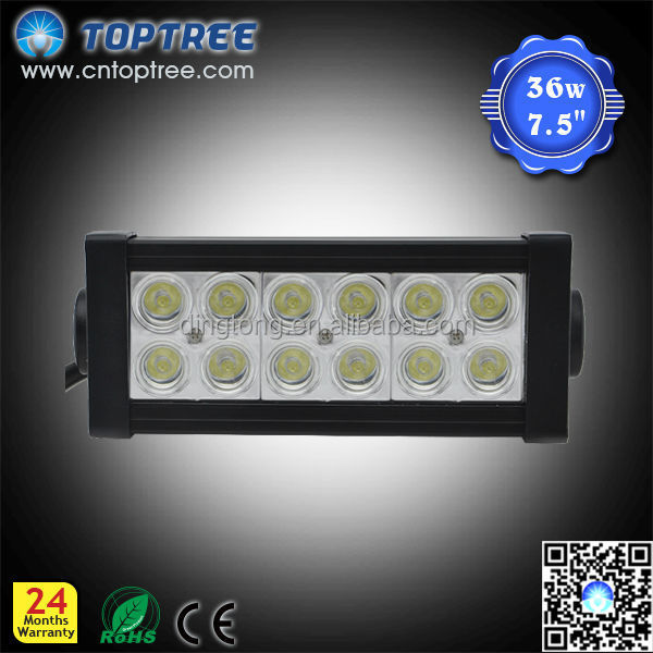 7.5INCH 36W FOG 4WD BOAT UTE LED LIGHTled light bar ip68