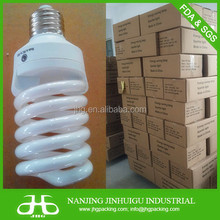 U & Half / Full Spiral CFL light bulb - 85% actual power- T2, T3, T4 tube wide power & voltage range