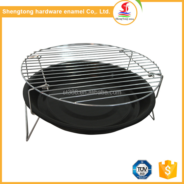 Low MOQ OEM multifunctional rotary bbq grill simple tabletop babecue
