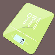 new bluetooth kitchen scale 5kg/1g digital food scale with 4mm touch-style switch