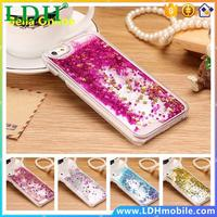 Dynamic Liquid Glitter Sand Quicksand Star For iphone 5s case Crystal Clear Back Cover coque For iphone 5 case For iPhone 5C