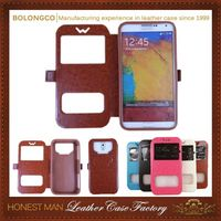2015 Newest Good-Looking Newest Model Pu Flip Case Cover Pouch For Lg L90