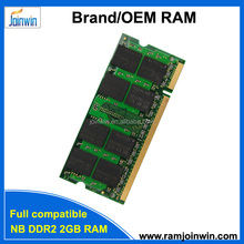 Notebook ddr2 2gb pc800 ram memory