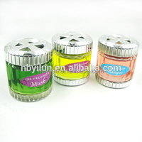 Gel Type Custom car gel perfume/car gel air freshener
