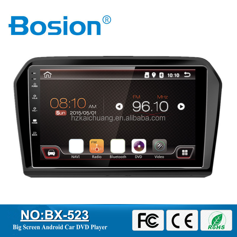 China Factory OEM VW Jetta Android Car Audio System Car Radio Multimedia With 3G and Wifi Antenna
