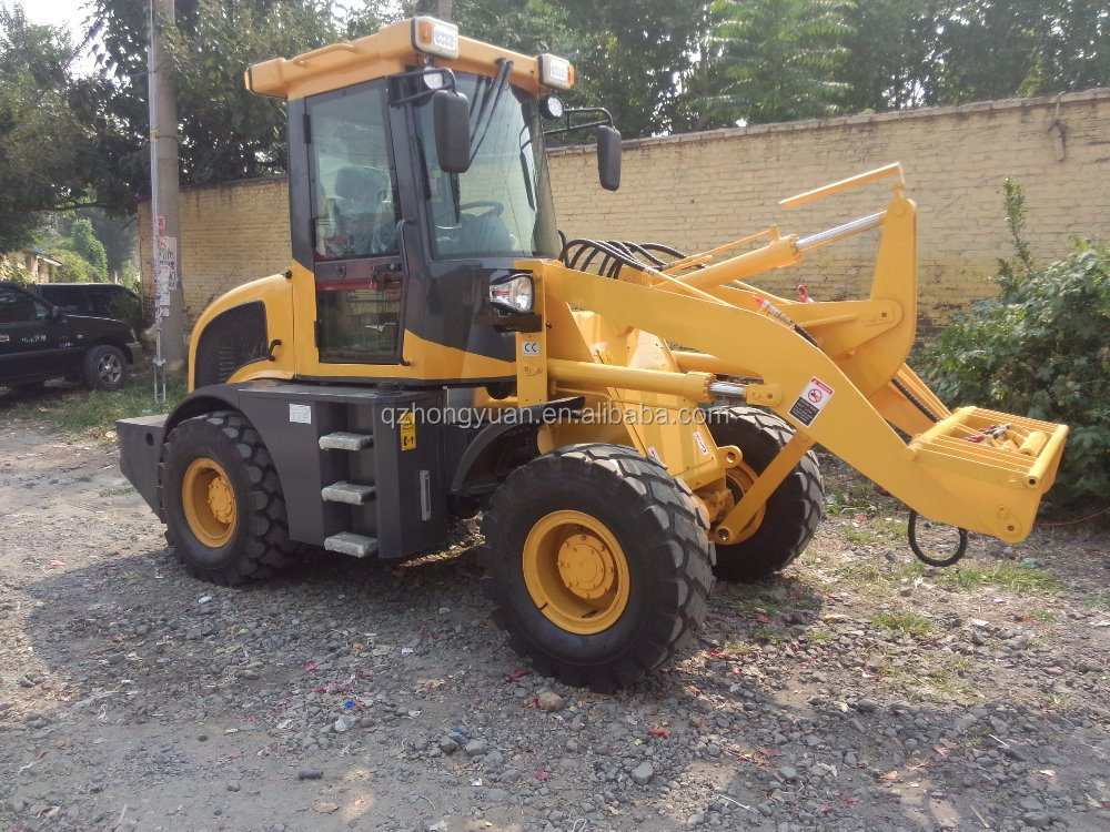 Overseas service center available After-sales Service Provided and New Condition Tractor 3 Point Hitch Backhoe Loader