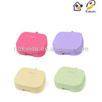 The kaida A-8029 Cartoon Contact Lens Case for promotional gifts fashion Contact Lens Box plastic Contact Lens Accessories