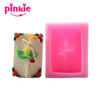Z820 Ballet dancer Shaped SIlicone Soap Molds