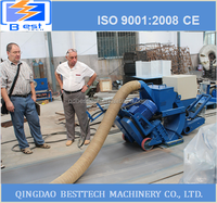 Protable road Shot blasting machine, floor surface shot blasting machines, movable shot blasting machine