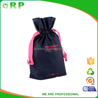 Wholesale foldable portable handmade non woven shopping bag with ultrasonic point