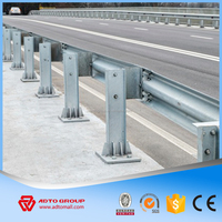 ADTO Group Hot Dip Galvanized Highway Guardrail/Safety Crash Barrier/W Beam Dimensions Corrosion Resistance Price Wholesale
