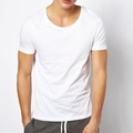 High Quality Good Price mens T-shirt, white plain t shirt for mens