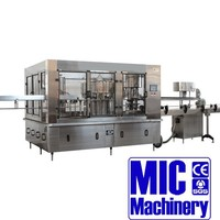 MIC-32-32-10 Micmachinery Automatic juice manufacturing plant 12000-15000bph with CE