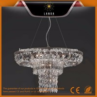 Spain Bronze Crystal Antique Chandelier