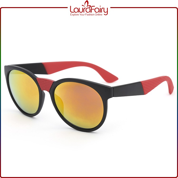 Laura Fairy Uv400 Low Price High Quality Novel Design Plastic Colorful Sunglasses