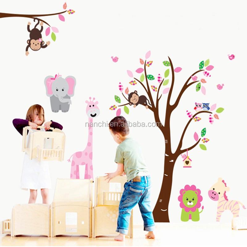 Venta al por mayor sticker para pared bebe compre online for Pegatinas decoracion bebe