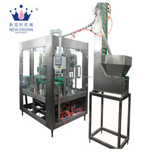 China high quality Automatic linear carbonated soft drink filling machine