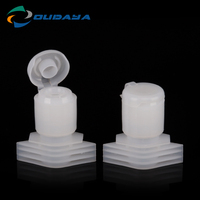 Colorful Plastic Screw Flip Top Caps and Closures for Beverage Bottle Cover