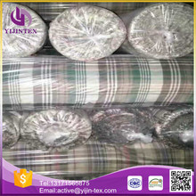 Factory high quality 100 cotton piece dyed fabric in stock