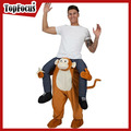 High Quality Cute Monkey Mascot Costume Adult Carry me Costume Wholesale