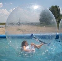 1mm PVC bubble roller/inflatable water walking ball