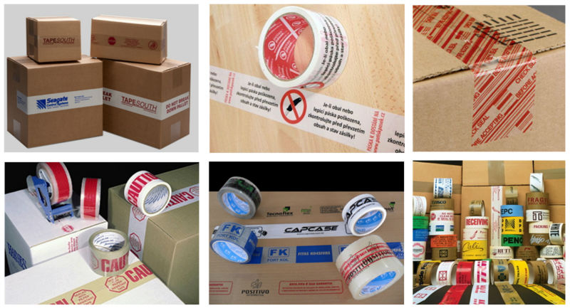 OPP Printed Carton Sealing Tape (BOPP Film and Water-Base Acrylic)