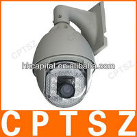 H.264 PNP 18X Zoom Wired PTZ IR Speed Dome ip camera