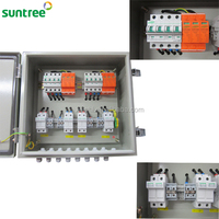 Solar Module Junction Box PV Array Combiner Box