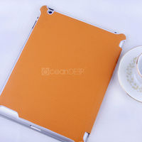 Refreshing laptop leather case for ipad4 case newest design case