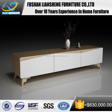 Modern High Gloss White TV Stand Wall TV Cabinet Design TV Stand Showcase