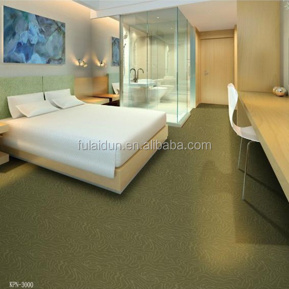 Luxury PP tufted carpet colorful wall to wall floral pattern hotel carpet