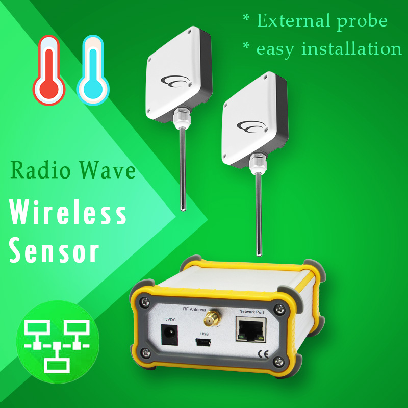 easy installation Radio Wave Wireless sensor waterproof enclosure