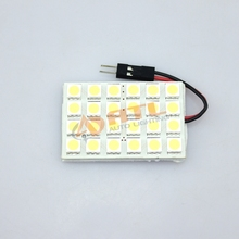 ATL Factory Supply High Quality T10 BA9S S8.5 Car Led Interior Absorb Dome Light 24SMD 5050 led board