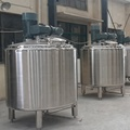100-8000L stainless steel liquid double jacket reactor mixer machine