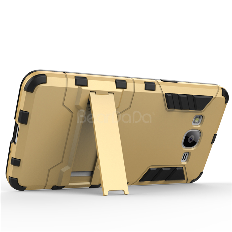 Iron bear armor kick stand case for samsung galaxy grand prime g530h g5308w