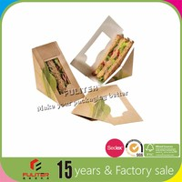 Food Transport Triangle Sandwich Box