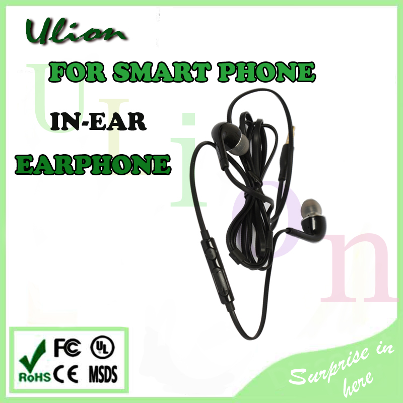 wholesale original mobile phone earphone for samsung s3 s4 s5 s6 in ear earphone with remote