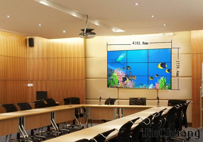 55''inch 1080P led video wall indoor with DID Ultra narrow bezel,advertising player video wall (MD-550)