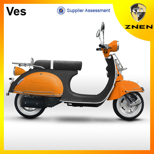VES--ZNEN 2017 EURO IV VESPA SCOOTER 49cc chinese cheap gas scooter 125CC with EEC EPA
