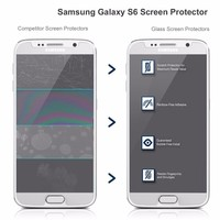High clear screen protector film roll for samsung s6 edge s6 plus edge tempered glass screen protector,