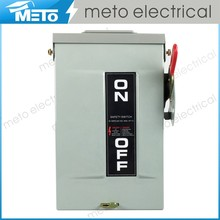 METO 30 Amp safety switch/120v disconnect switch/electric switch