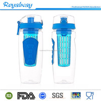 Best Selling 32oz juice drink bottle plastic sports infuser water bottle