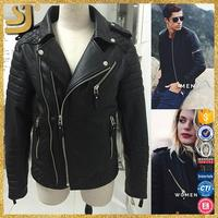 SHANGYI wholesale spring autumn leather jackets for women men