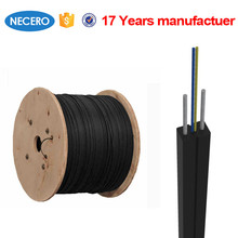 light weight low smoke GJXH FTTH Fiber Optic Drop Cable