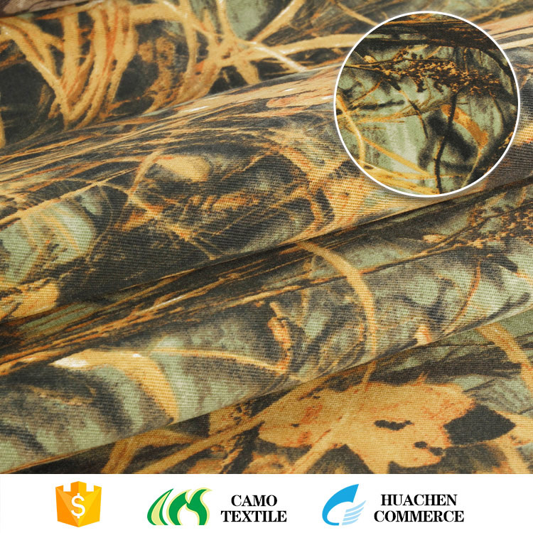 10 years experience china manufacturer twill printed camouflage fabric
