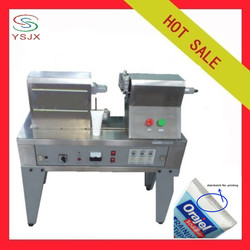 Cosmetic tube semi automatic aluminium tube sealer