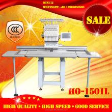 Single 1 head 360*1200mm China tajima embroidery machine with 15 needles Happy computerized embroidery machine price