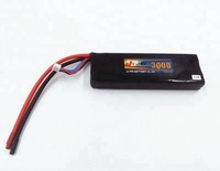 High discharge rate RC Helicopter 11.V 3000mah 35C Li-po battery pack
