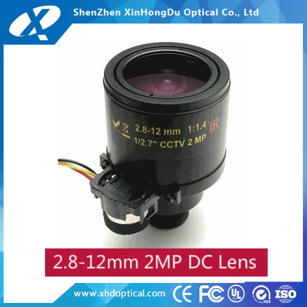 2017 new product megapixel 1/2.7 inch f1.6 2.8-12mm M12 mount adjustable zoom lens
